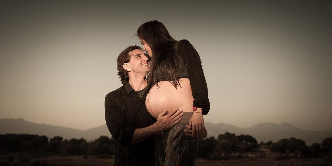 Maternity Photograph Mallorca, Portrait, Pregnancy, Pregnant