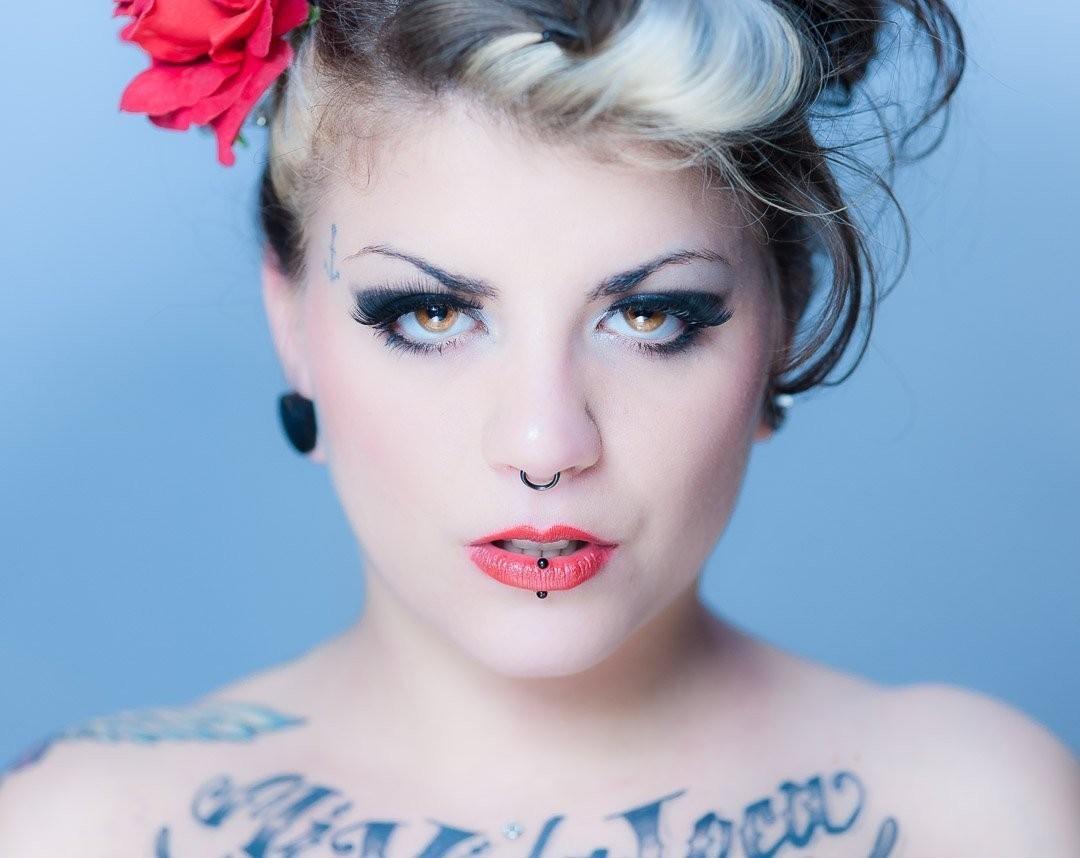Aggressive, Models, Portrait, Tattoo