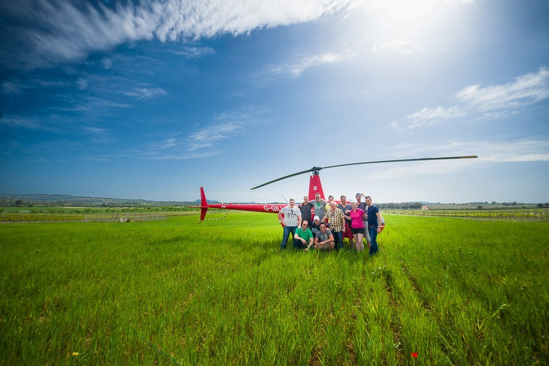 Bodega Son Bordils, Event, Group Photo, Hilti, Incentive, Islandbridge, Sloane Helicopters