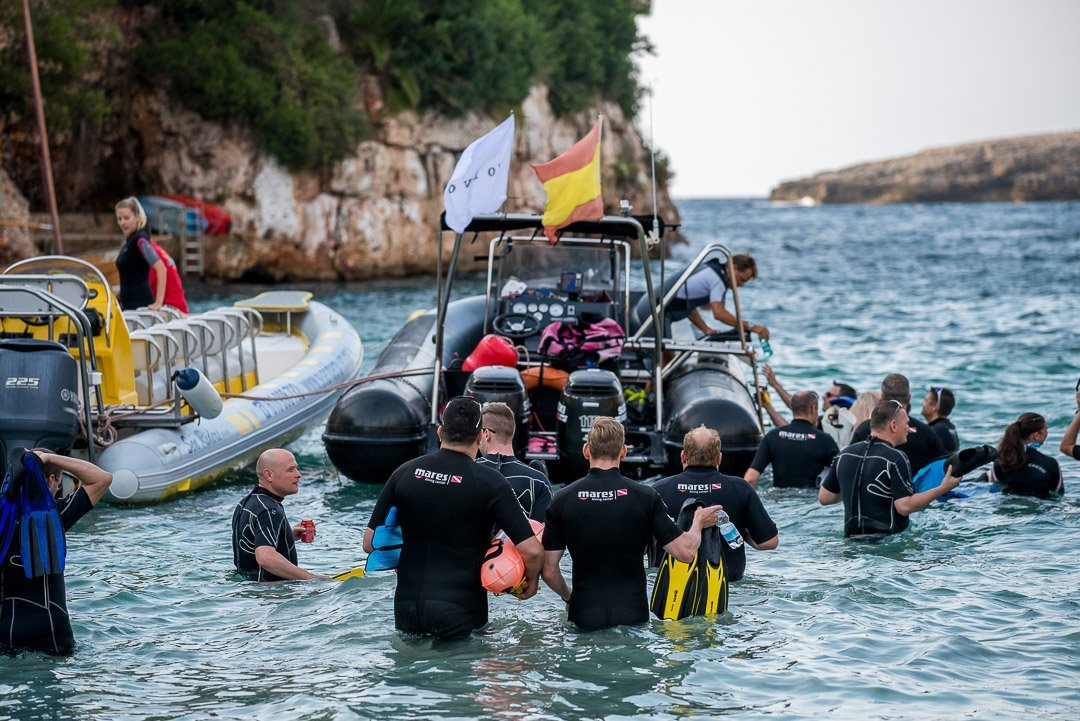 Corporate Event, Diving, Hotel Robinson Club Cala Serena, Incentive, Mar Mediterraneo, Volvo