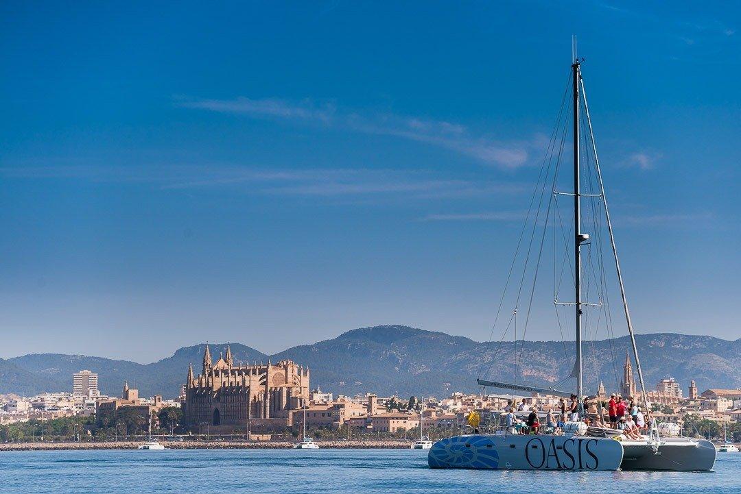 Catamaran Oasis, Corporate Event, Ergo, Urban Landscape