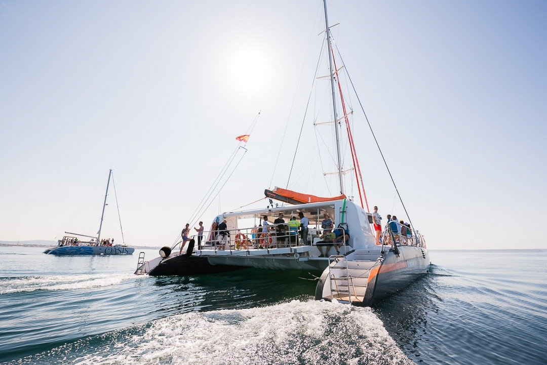 Catamaran Oasis, Corporate Event, Ergo, Leisure at Events, Water Leisure