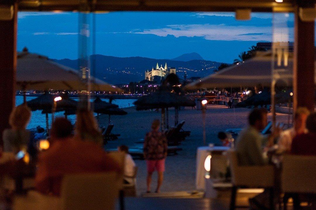 Assaona GastroBeach, Commercial Photography Mallorca, Fotografía Comercial en Mallorca, Playa de Can Pere Antoni, Portixol, Urban Landscape