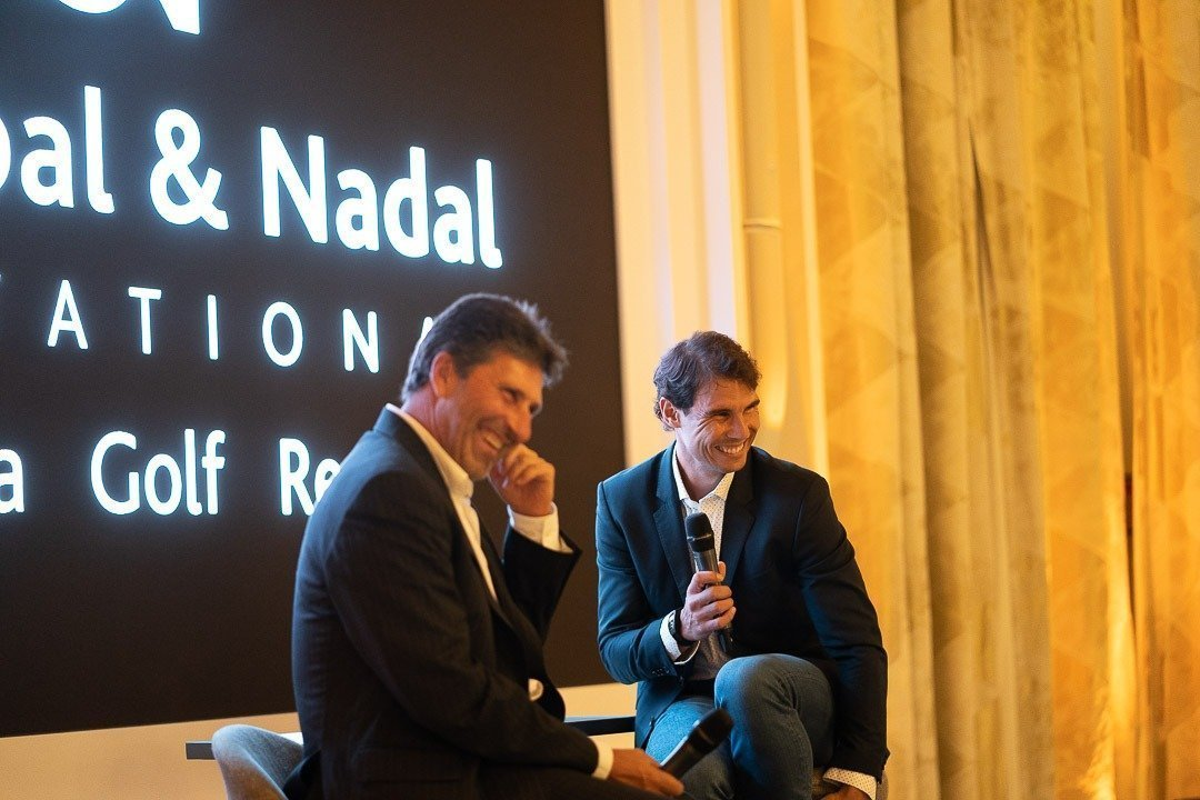 Charity, Charity Event, Conference, Hotel Parc Hyatt Mallorca, Jose Maria Olazábal, Olazábal & Nadal Invitational, Rafa Nadal, Real Estate Balearhouse