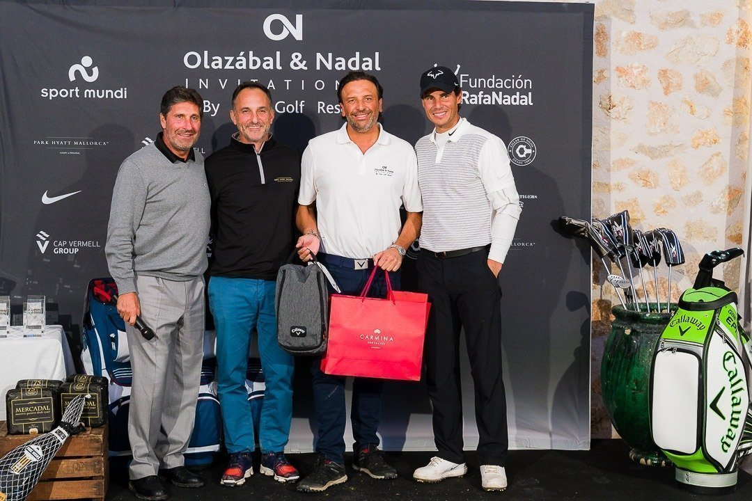 Charity, Golf, Golf Pula Golf Resort, Jose Maria Olazábal, Olazábal & Nadal Invitational, Rafa Nadal, Real Estate Balearhouse