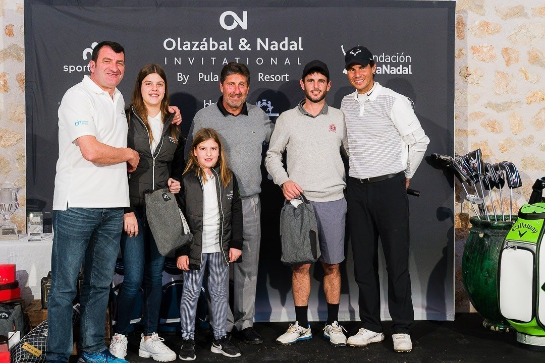 Balearhouse, Charity Event, Golf, Golf Pula Golf Resort, Jesus Calvo, Jose Maria Olazábal, Olazábal & Nadal Invitational, Rafa Nadal, Real Estate Balearhouse