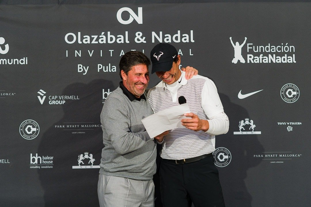 Charity Event, Golf, Golf Pula Golf Resort, Jose Maria Olazábal, Olazábal & Nadal Invitational, Rafa Nadal, Real Estate Balearhouse