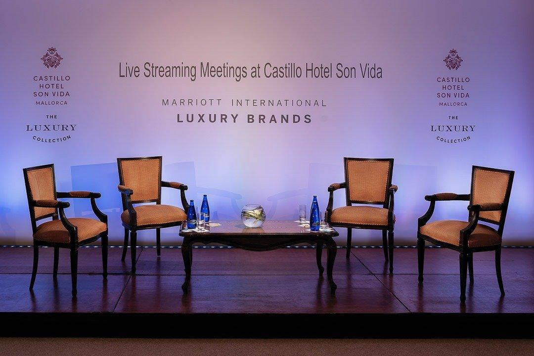 Commercial Photography Mallorca, Conference, Fotografía Comercial en Mallorca, Hotel Castillo Son Vida, Meetings
